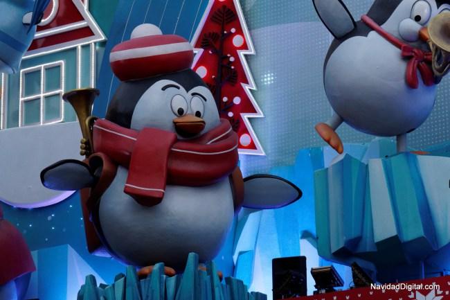 Pingucho com a sua trompete (créditos NavidadDigital.com)