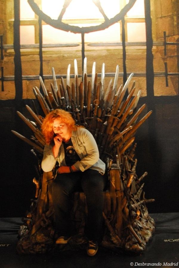 O Trono de Ferro é meu!