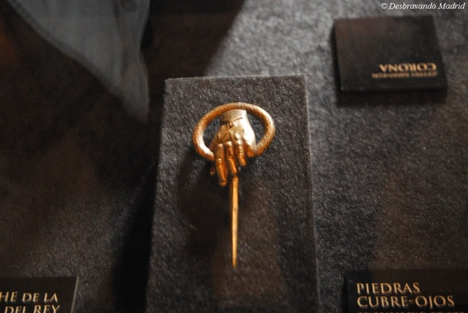 Hand of the King, o pin original!