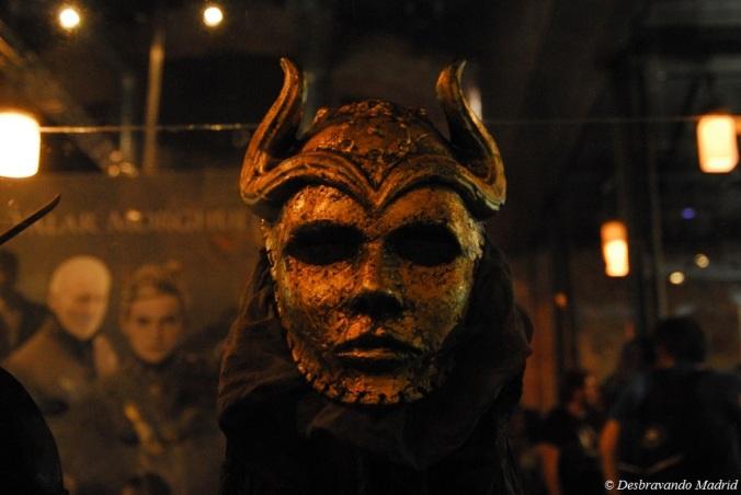 Máscara dos Filhos a Hárpia